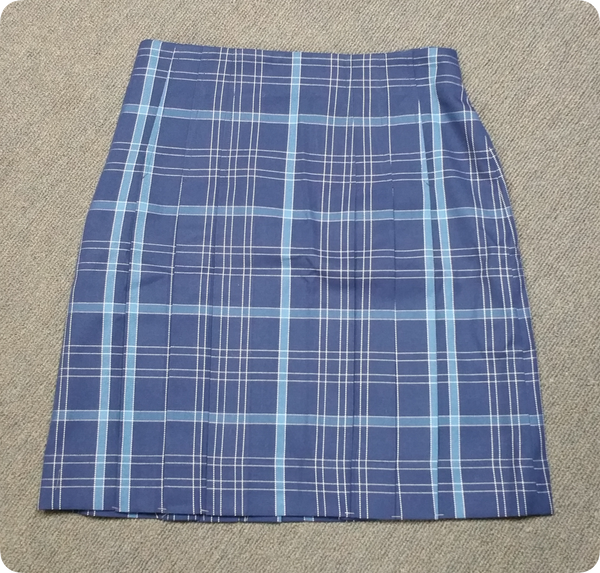 Girls (Senior) Check Skirt - Yrs 11 & 12
