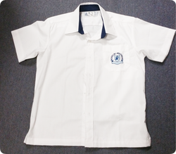 Boys Shirt SHORT Sleeve Yrs 7-12
