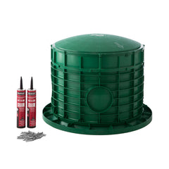 "20"" x 17"" Septic Tank Riser Kit Domed Lid"