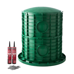 "20"" x 26"" Septic Tank Riser Kit Domed Lid"