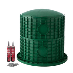 "24"" x 26"" Septic Tank Riser Kit Domed Lid"