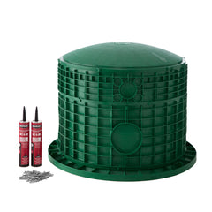 "24"" x 20"" Septic Tank Riser Kit Domed Lid"