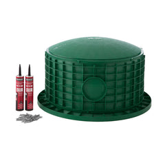 "24"" x 14"" Septic Tank Riser Kit Domed Lid"