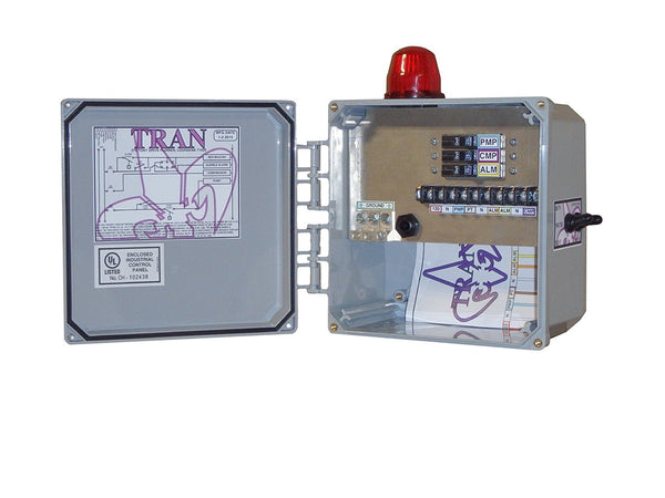 Tran N2 septic control panel no timer