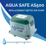 Aqua Safe AS500 Alternative Septic Air Pump