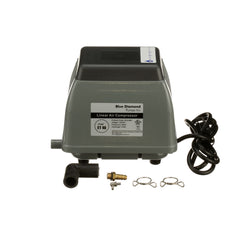 Blue Diamond ET40 Septic Air Pump Front View No Alarm