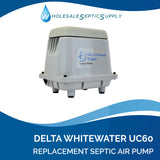 Delta Whitewater UC60 Alternative Septic Air Pump