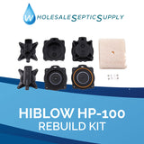 Hiblow HP-120-0110 Septic Air Pump Rebuild Kit