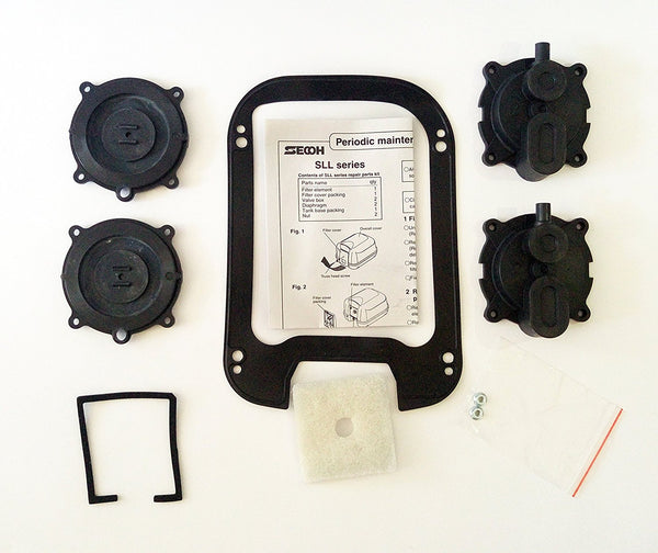 Secoh SLL-40 Septic Air Pump Rebuild Kit