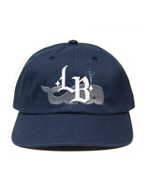 Whale LB, unstructured cap, Navy