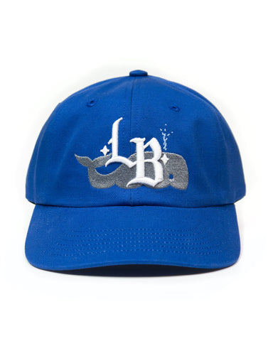 Whale LB, unstructured cap, Royal Blue
