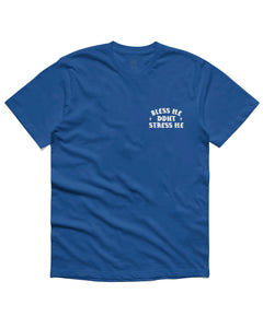 Bless me Short Sleeve, Royal Blue