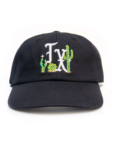 Cactus TX, unstructured cap, Black