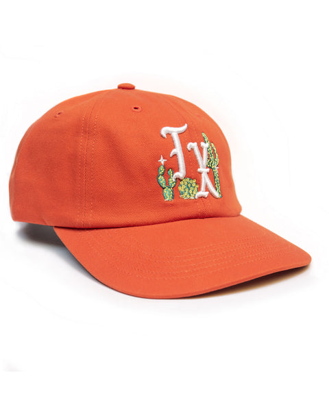 Cactus TX, unstructured cap, Orange