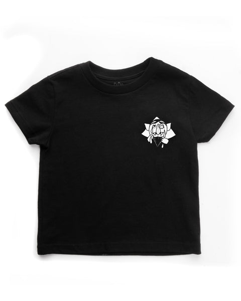 Count Toddlers Short Sleeve, Black