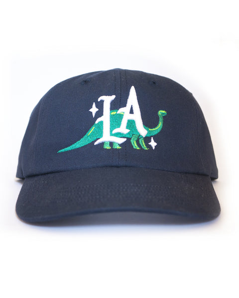 Dinosaur LA, unstructured cap, Navy