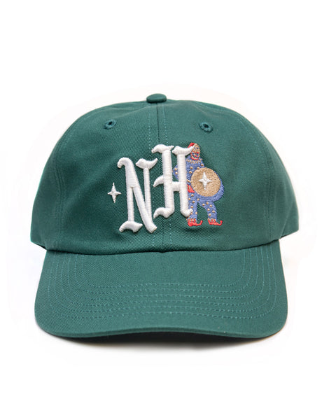 Clown NH, unstructured cap, Green