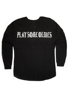 Oldies Long Sleeve Jersey, Black