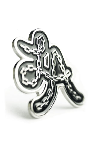 Pin: LA chain, chrome