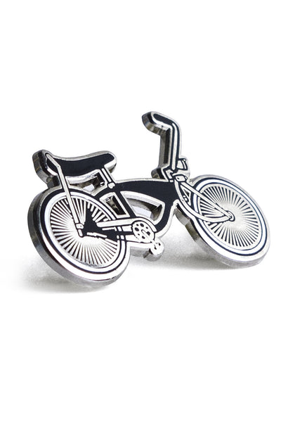 Lowrider bike, chrome pin