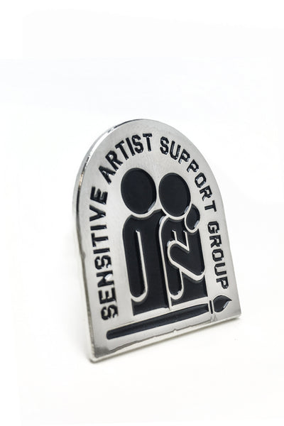 Sensitive Artist Pin