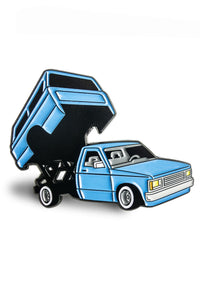 Mini Truck Blue Pin