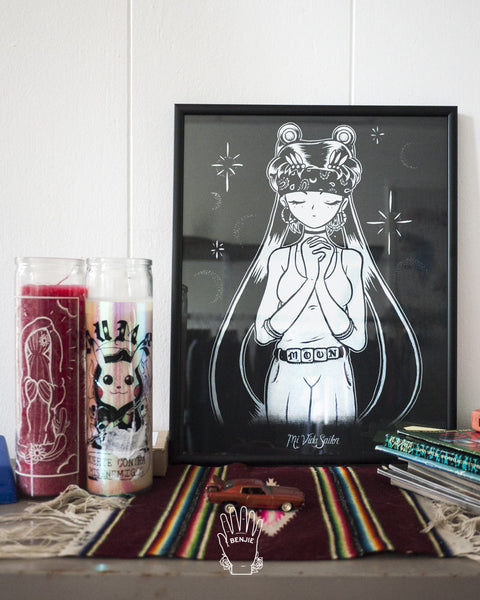 Mi Vida Sailor Art Print