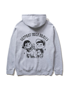 Support Your Homies Pullover, Athletic Heather