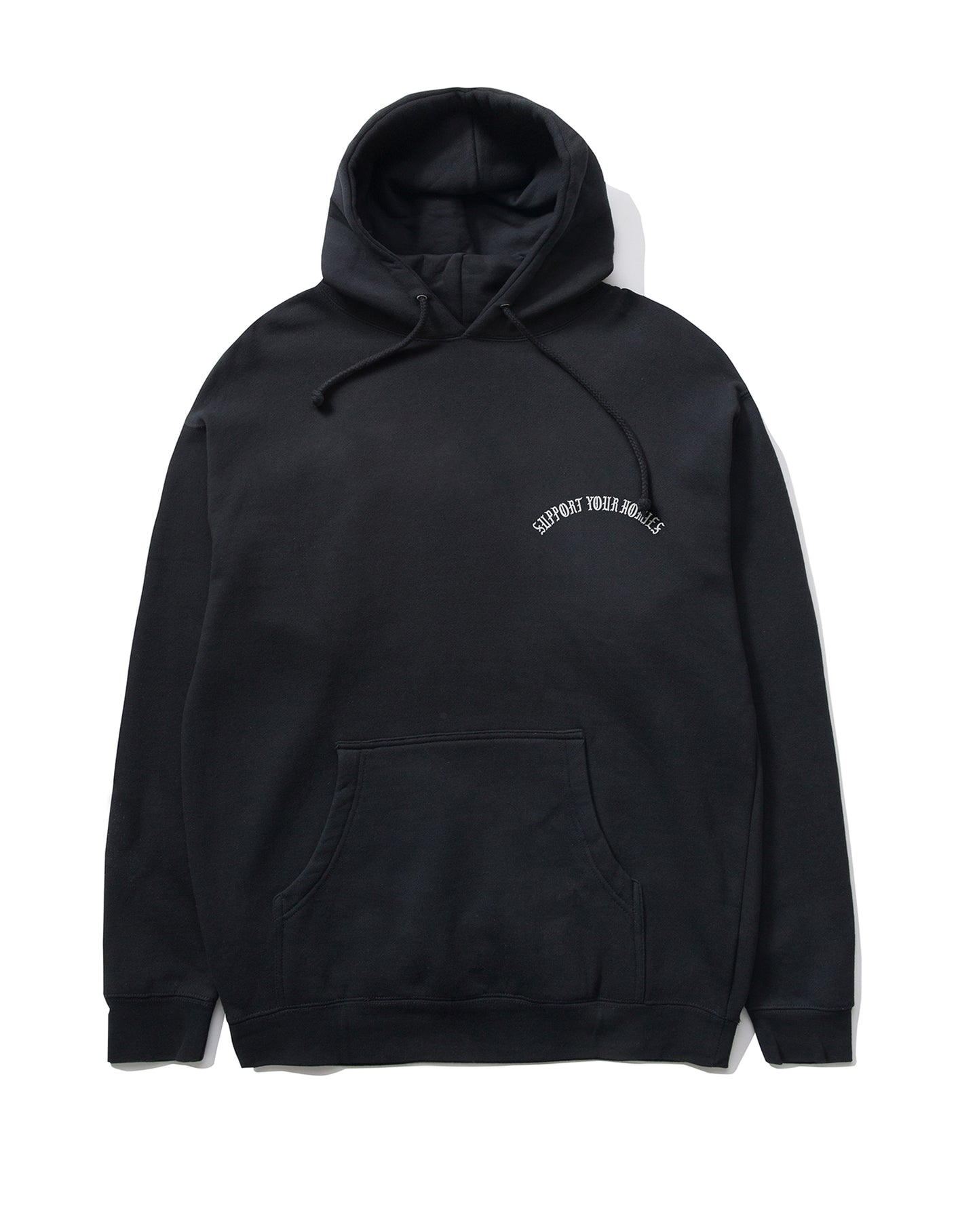 Support Your Homies Pullover, Black