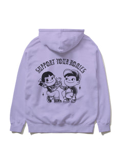 Support Your Homies Pullover, Lavender
