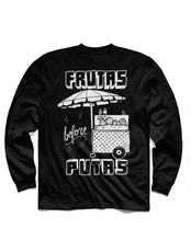 Load image into Gallery viewer, Frutas Long Sleeve, Black