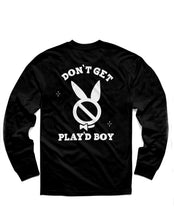 Load image into Gallery viewer, Play'dboy Long Sleeve, Black