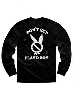 Play'dboy Long Sleeve, Black