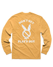 Load image into Gallery viewer, Play'dboy Long Sleeve, Mustard