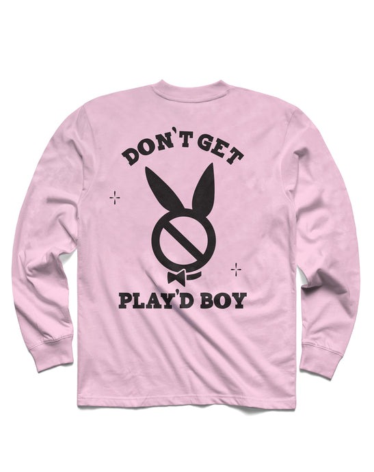 Play'dboy Long Sleeve, Pink