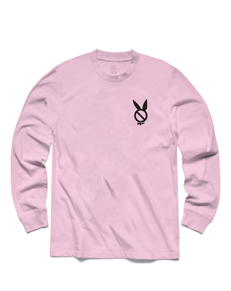 T shirt: Play'dboy Long Sleeve, Pink
