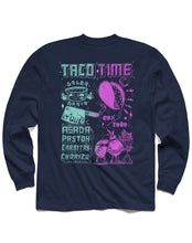 Load image into Gallery viewer, Taco Time Long Sleeve, Navy