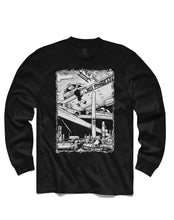 Load image into Gallery viewer, Traffic Jams Long Sleeve, Black