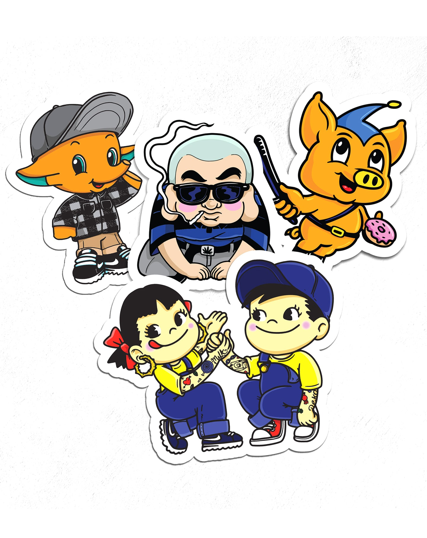 Sticker pack (spring 2020)