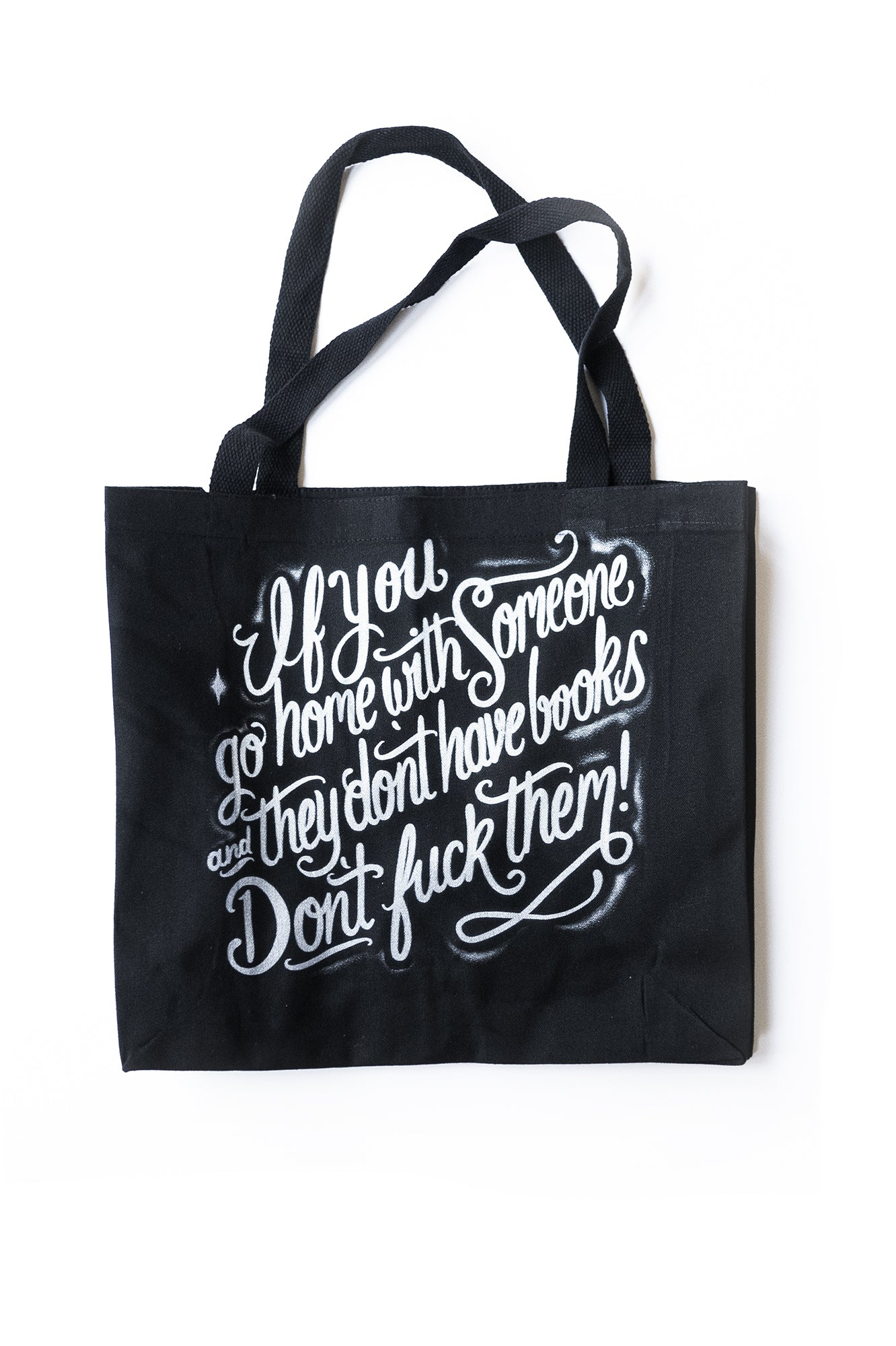 John Waters Quote tote bag