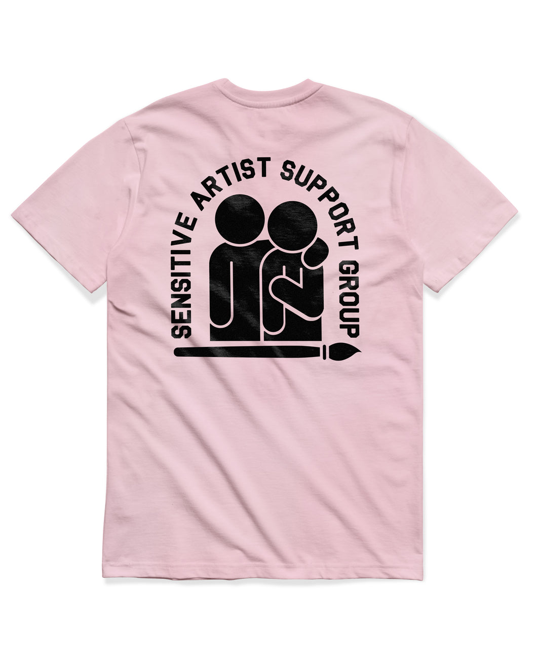 Sensitive Artist Short Sleeve, Pink
