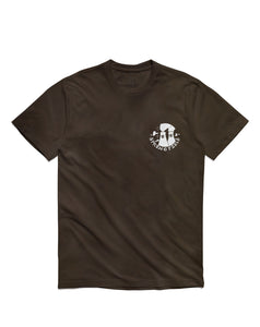Clown Short Sleeve, Brown