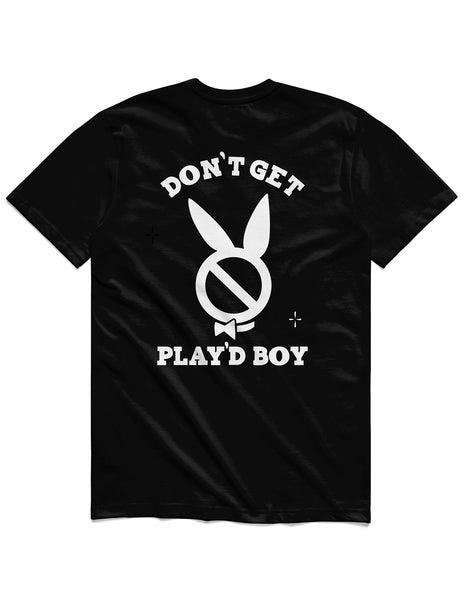 Don't get Play'dBoy Short Sleeve, Black