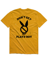 Load image into Gallery viewer, Don't get Play'dBoy Short Sleeve, Gold