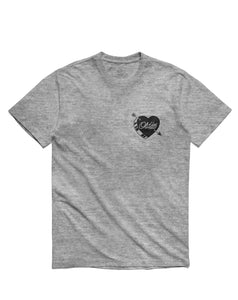 Oldies Short Sleeve, Heather Grey