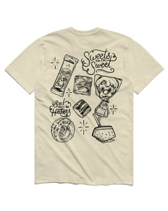 Sweets Short Sleeve, Cream