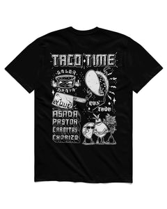 Tacos Short Sleeve, Black