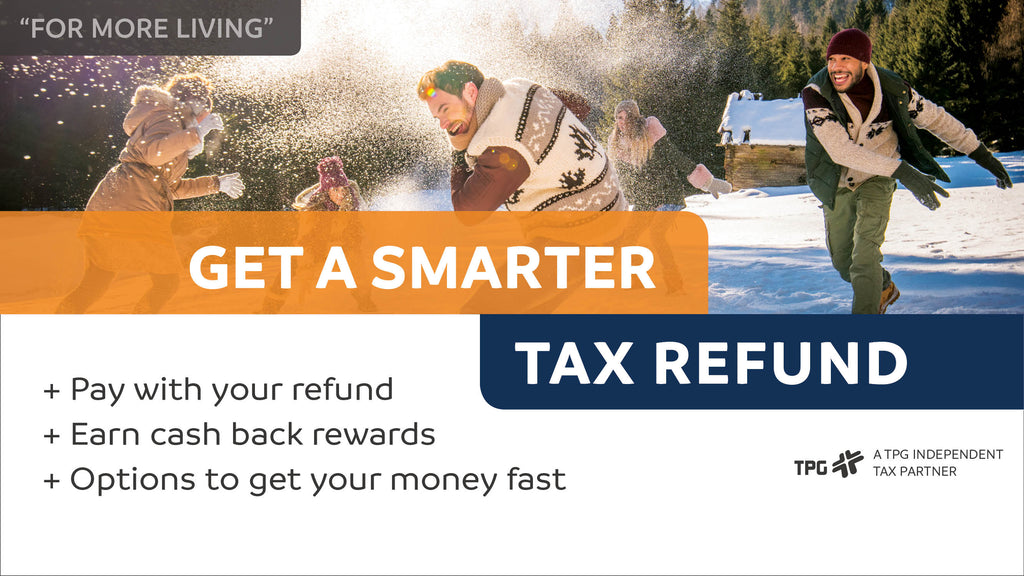 "TPG Social Media Posts/Ads ""Smarter Refunds Campaign"""