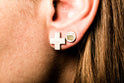 Plus Earring (12mm, DA)