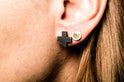 Plus Earring (12mm, KA)